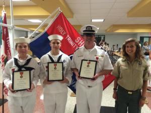 Ship 100 Heroism Honorees