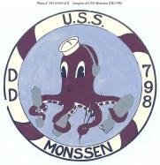 USS Monssen Logo