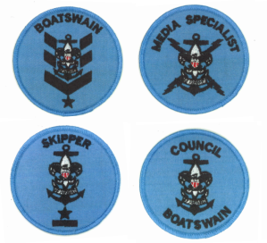 Sea Scout Badges of Office Sq
