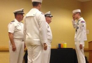 National Boatswain Change of Watch 2015