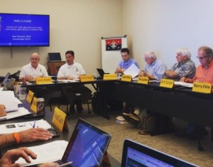 The National Sea Scout Support Committee Meeting kicks off. Photo by J. Gilliland